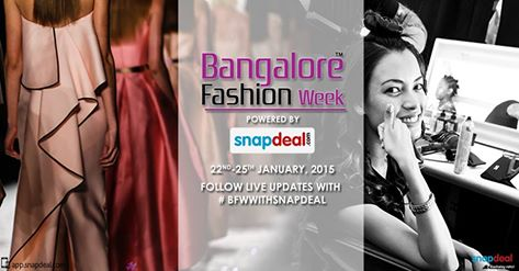 Banglore Fashion Week 2015