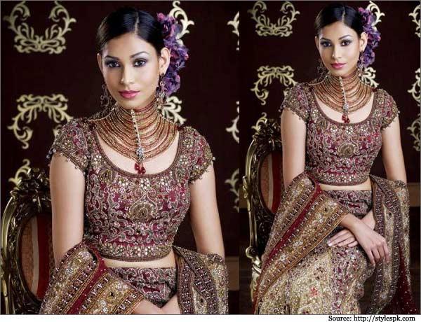 Maharani-Stylish-and-Hot-Wedding-Saree-Blouse-Design