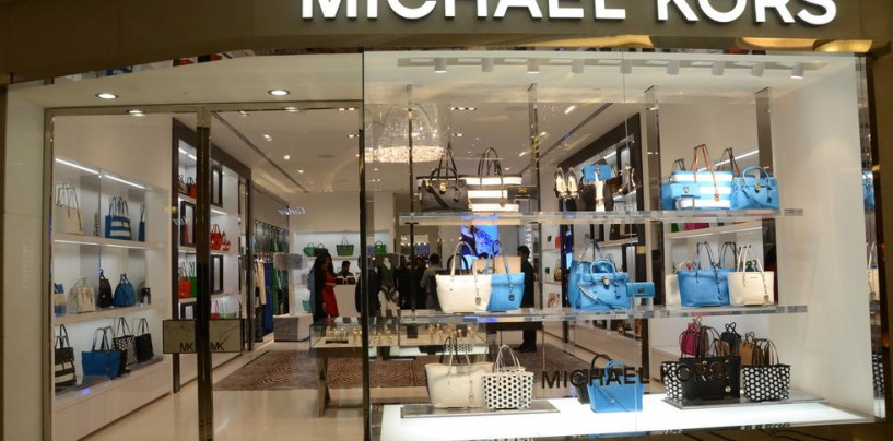 MICHAEL KORS OPENS ITS STORE IN MUMBAI