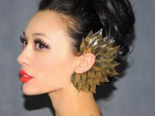 Oversized ear cuffs making a stronger Style Statement