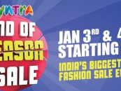 Coming soon – Myntra 'End of Reason Sale'