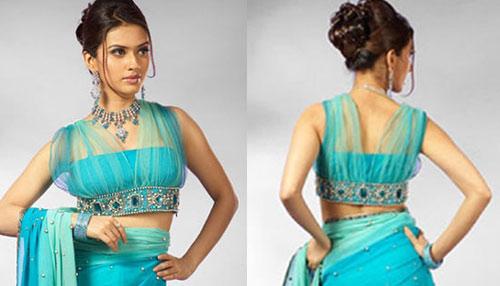 net-saree-blouse-