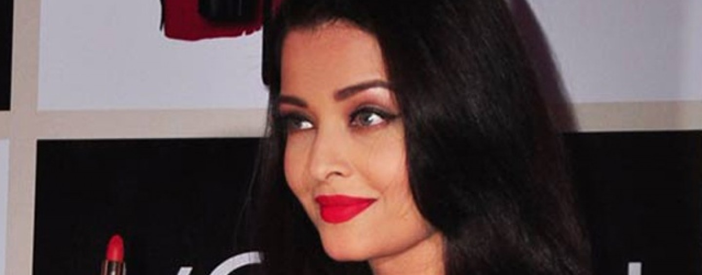 Aishwarya Rai Bachchan Launches Moist Matte Collection Pure Reds lipsticks by L'Oreal Paris