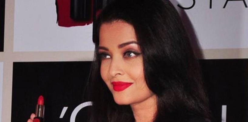 Aishwarya Rai Bachchan Launches Moist Matte Collection Pure Reds lipsticks by L'Oreal Paris