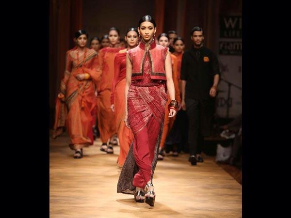 apsara style saree