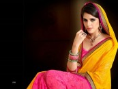 Latest trend of draping saree