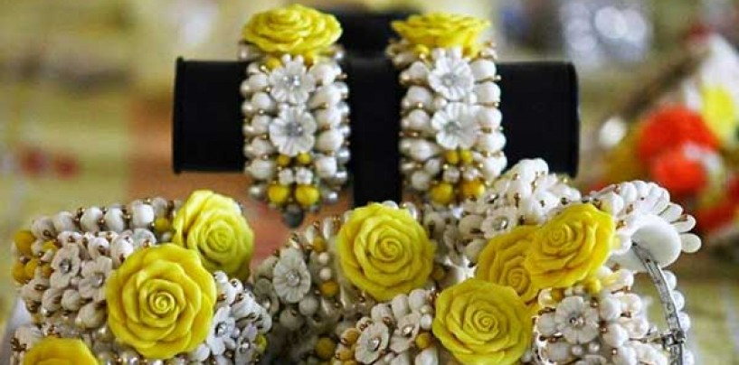 Fashion trend-Floral Jewelley
