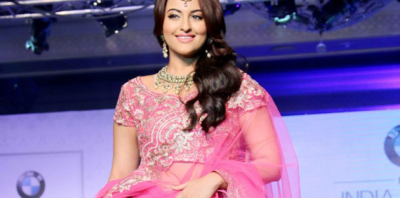India Bridal Fashion Week 2015 (IBFW) with brand ambassador Sonakshi Sinha