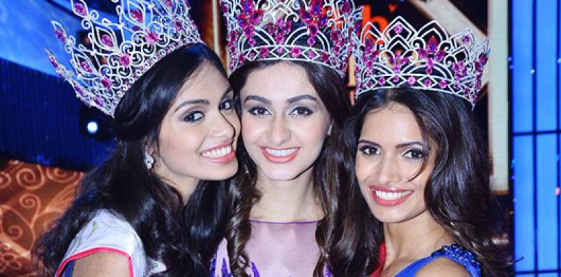 Aditi Arya crowned FBB Femina Miss India World 2015