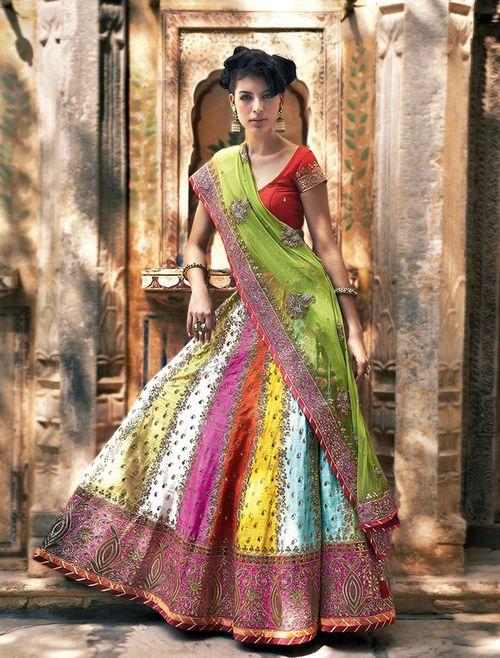 multi-colour-wedding-lehanga-choli