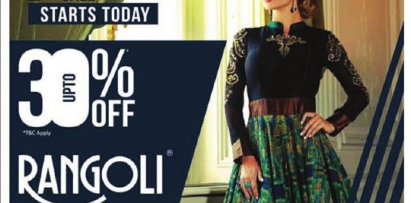 Rangoli Upto 30% Off